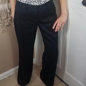 🌹 LOFT JULIE black straight leg trousers size 0P
